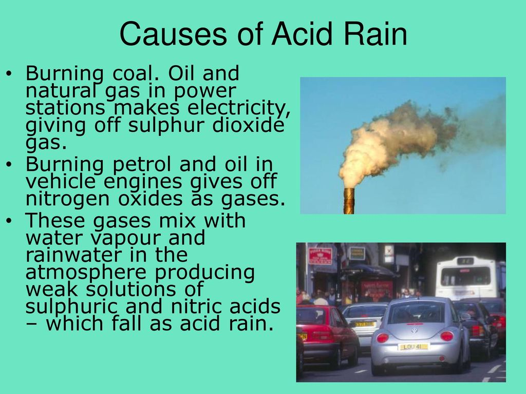 hight resolution of causes of acid rain burning coal oil and natural gas in power stations makes electricity