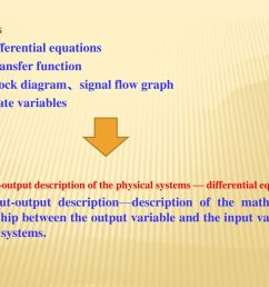 1 differential equations 2 transfer function [ 1024 x 768 Pixel ]