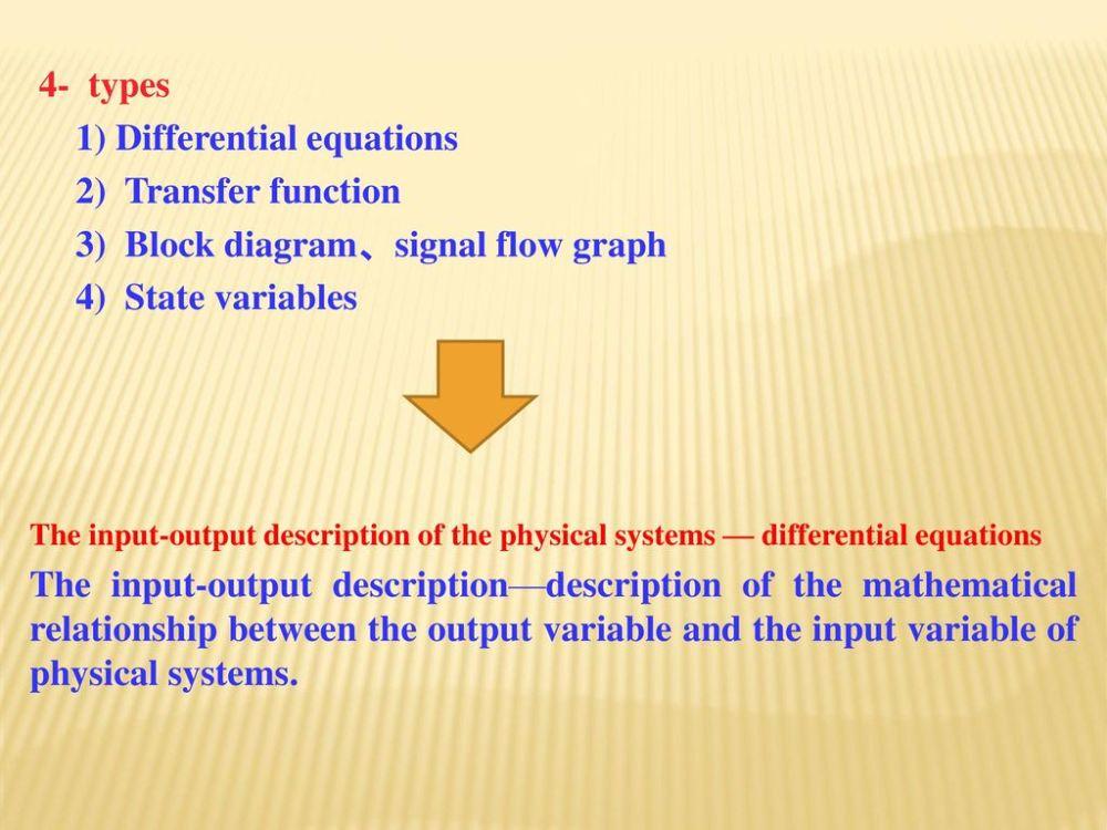 medium resolution of 1 differential equations 2 transfer function