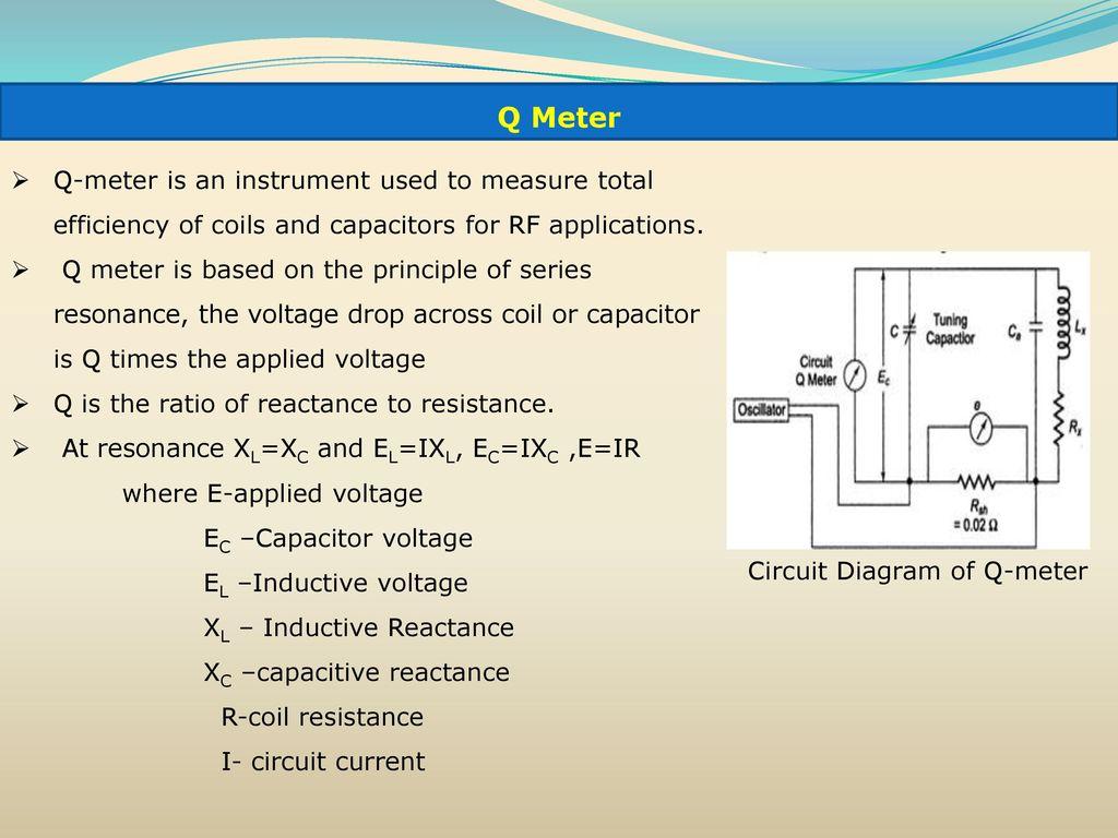 hight resolution of 78 circuit diagram of q meter