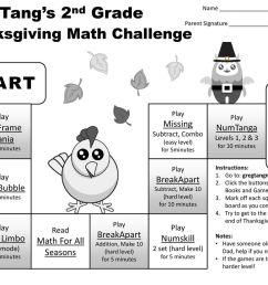 START FINISH Greg Tang's Kindergarten Thanksgiving Math Challenge Play -  ppt download [ 768 x 1024 Pixel ]