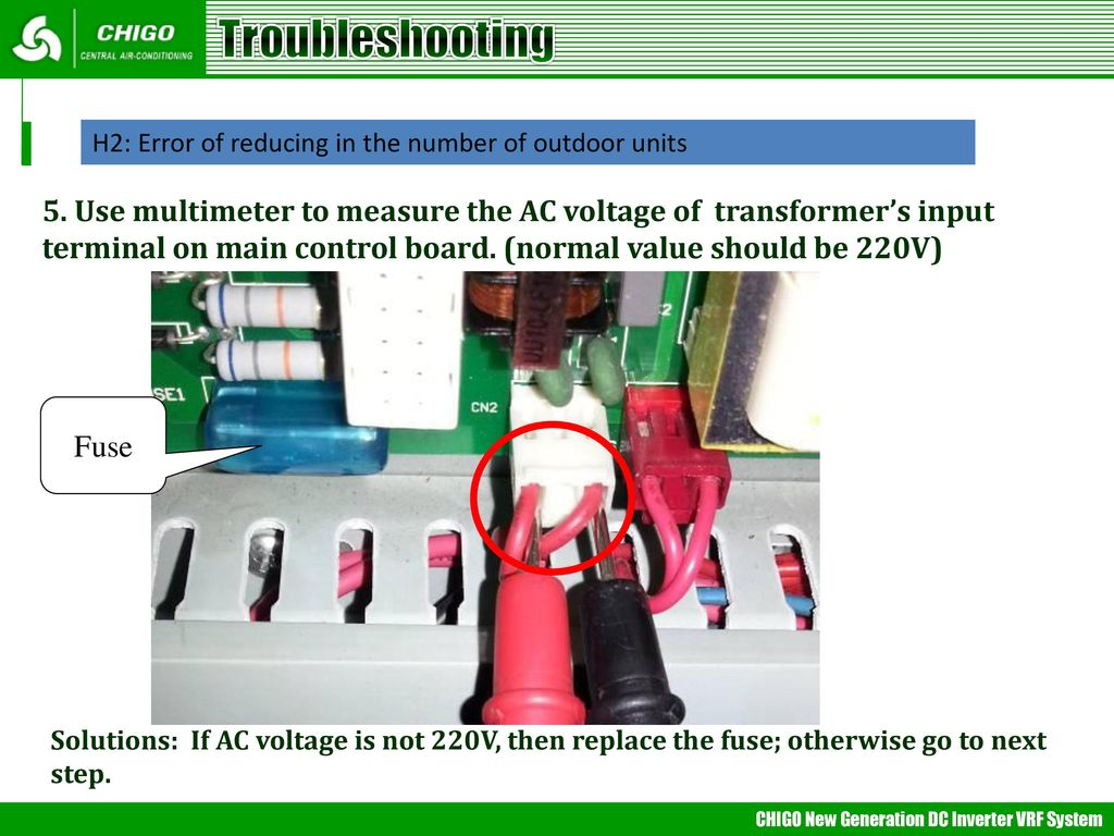 hight resolution of troubleshooting h2 error of reducing in the number of outdoor units