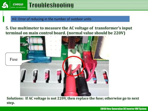 small resolution of troubleshooting h2 error of reducing in the number of outdoor units