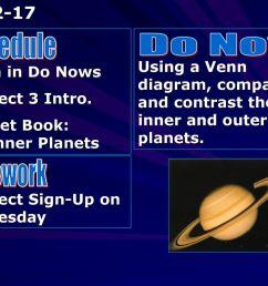 schedule do now homework [ 1024 x 768 Pixel ]