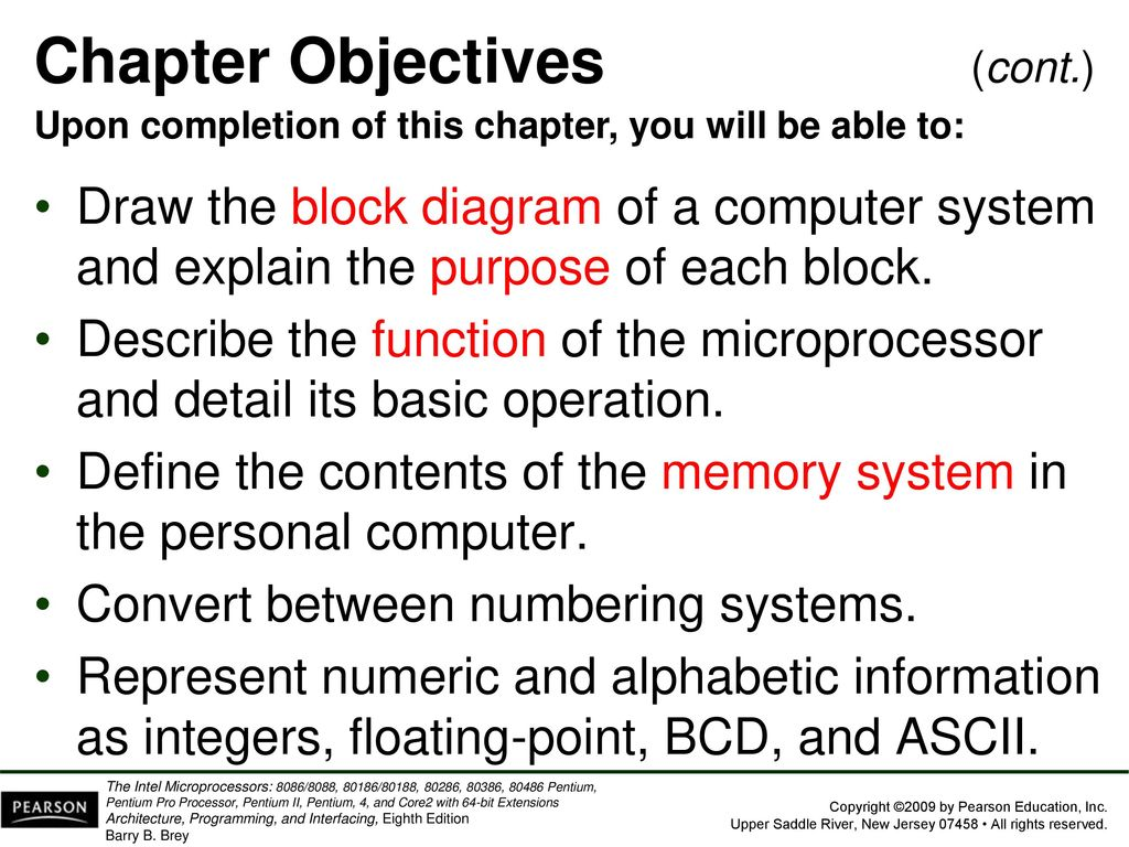 hight resolution of 5 chapter objectives