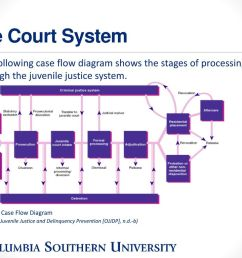 the court system the following case flow diagram shows the stages of processing through the juvenile [ 1024 x 768 Pixel ]
