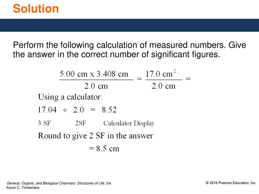 2 3 Significant Figures In Calculations