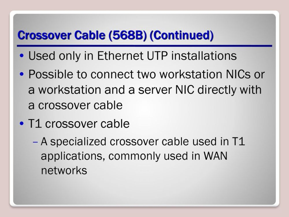 medium resolution of crossover cable 568b continued