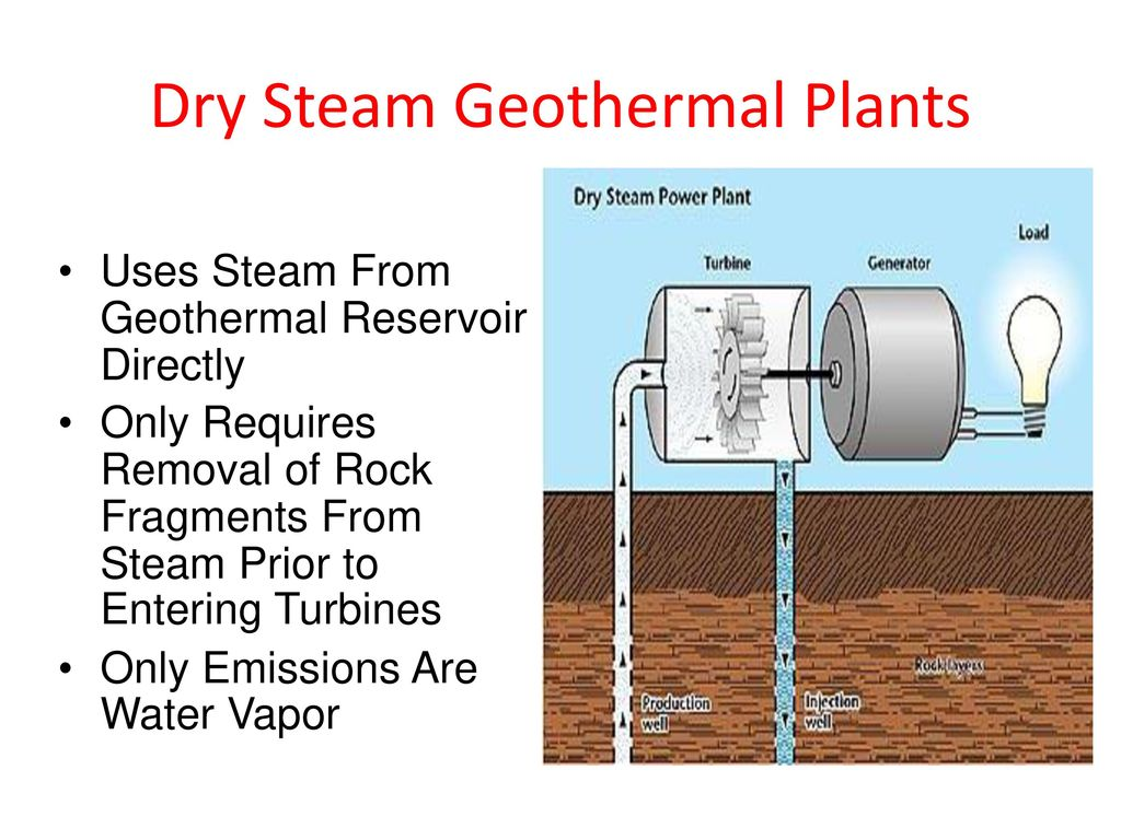 hight resolution of dry steam geothermal plants