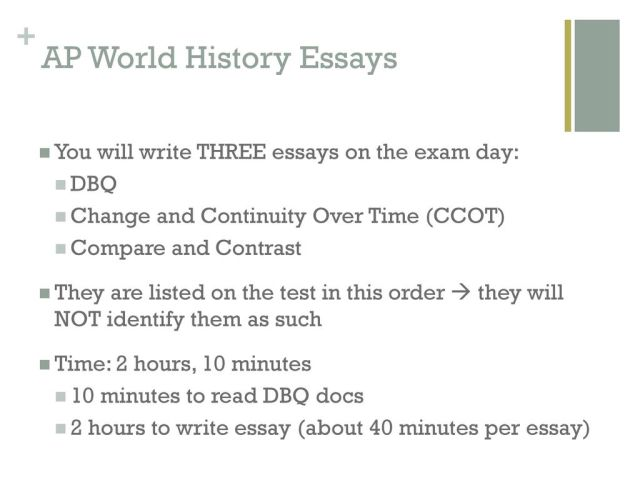 Change and Continuity Over Time Essay (CCOT) - ppt download