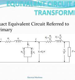 equivalent circuit of transformer [ 1024 x 768 Pixel ]