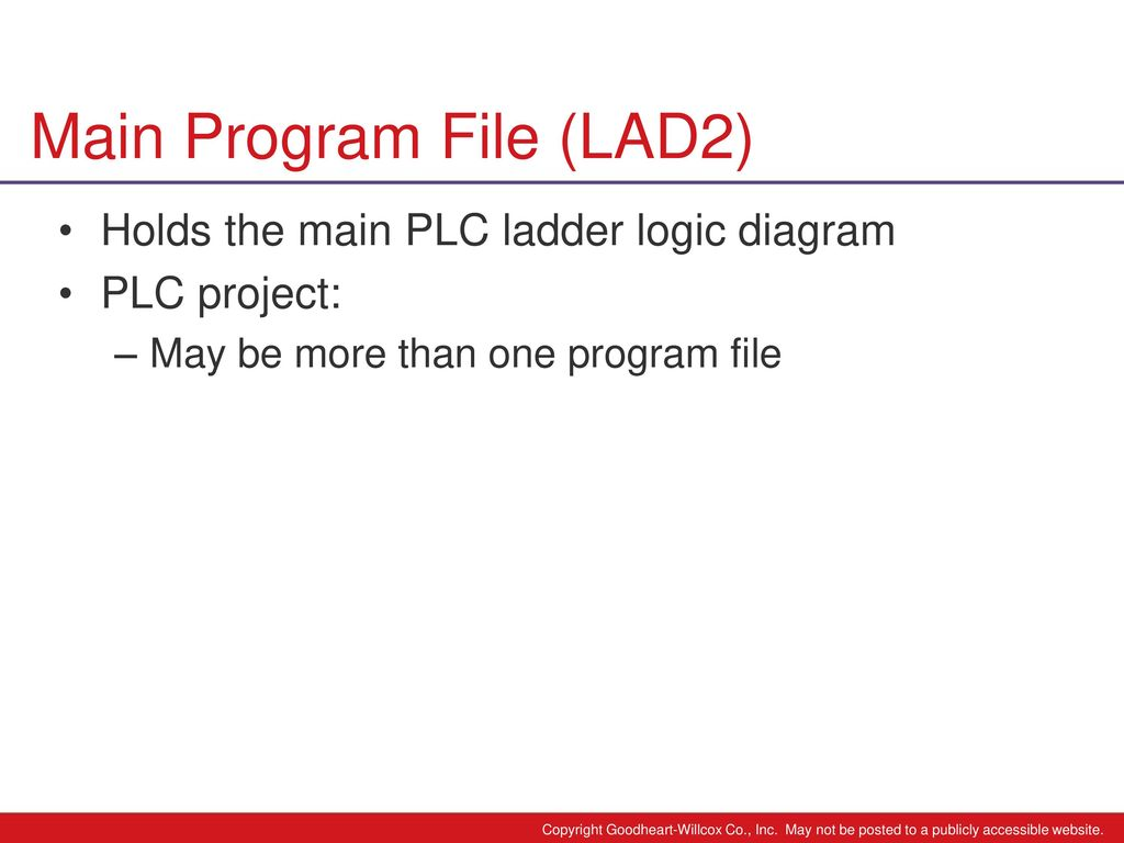 hight resolution of 24 main program file lad2 holds the main plc ladder logic diagram
