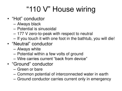 small resolution of 12 110 v house wiring
