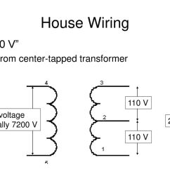 house wiring 220 v from center tapped transformer 110 v [ 1024 x 768 Pixel ]