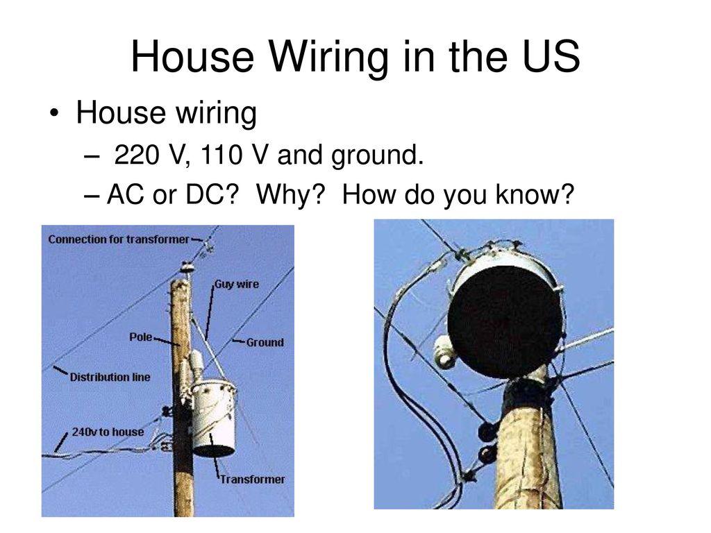240 volt house wiring