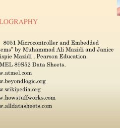 bibilography the 8051 microcontroller and embedded systems by muhammad ali mazidi and janice gillispie mazidi  [ 1024 x 768 Pixel ]