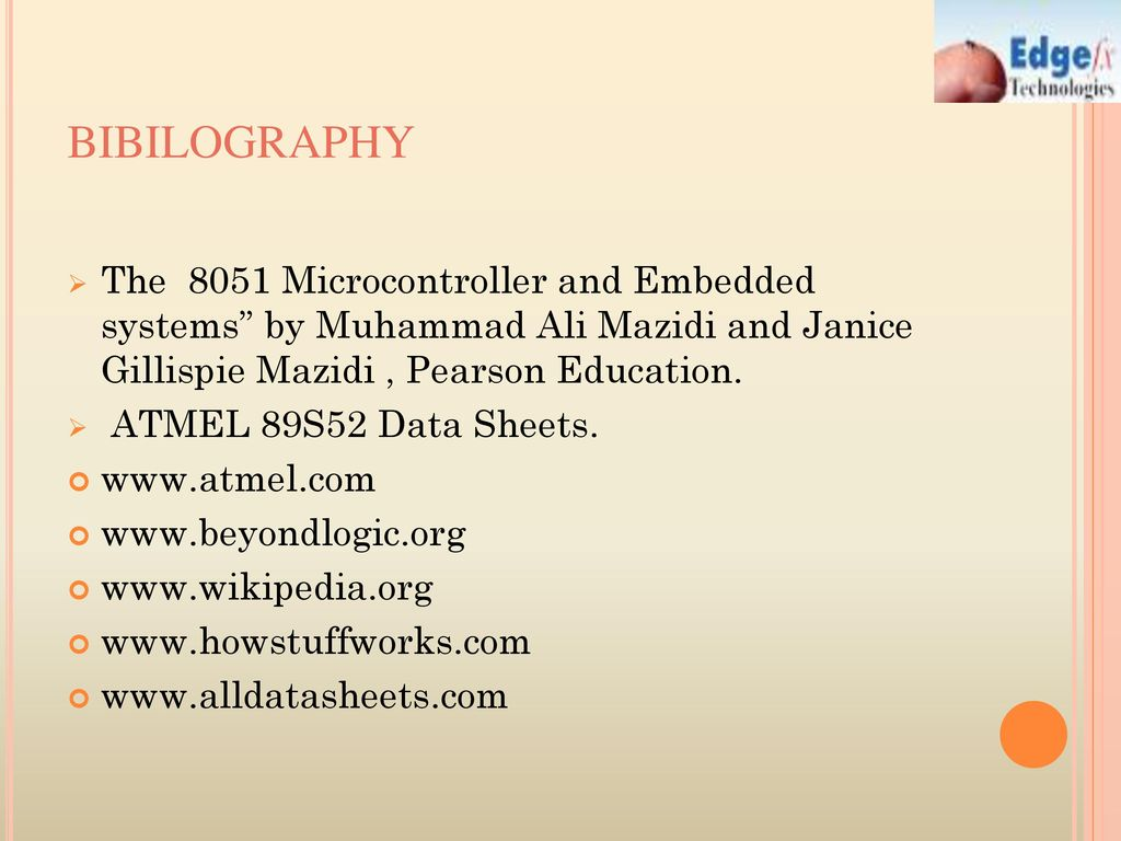 hight resolution of bibilography the 8051 microcontroller and embedded systems by muhammad ali mazidi and janice gillispie mazidi