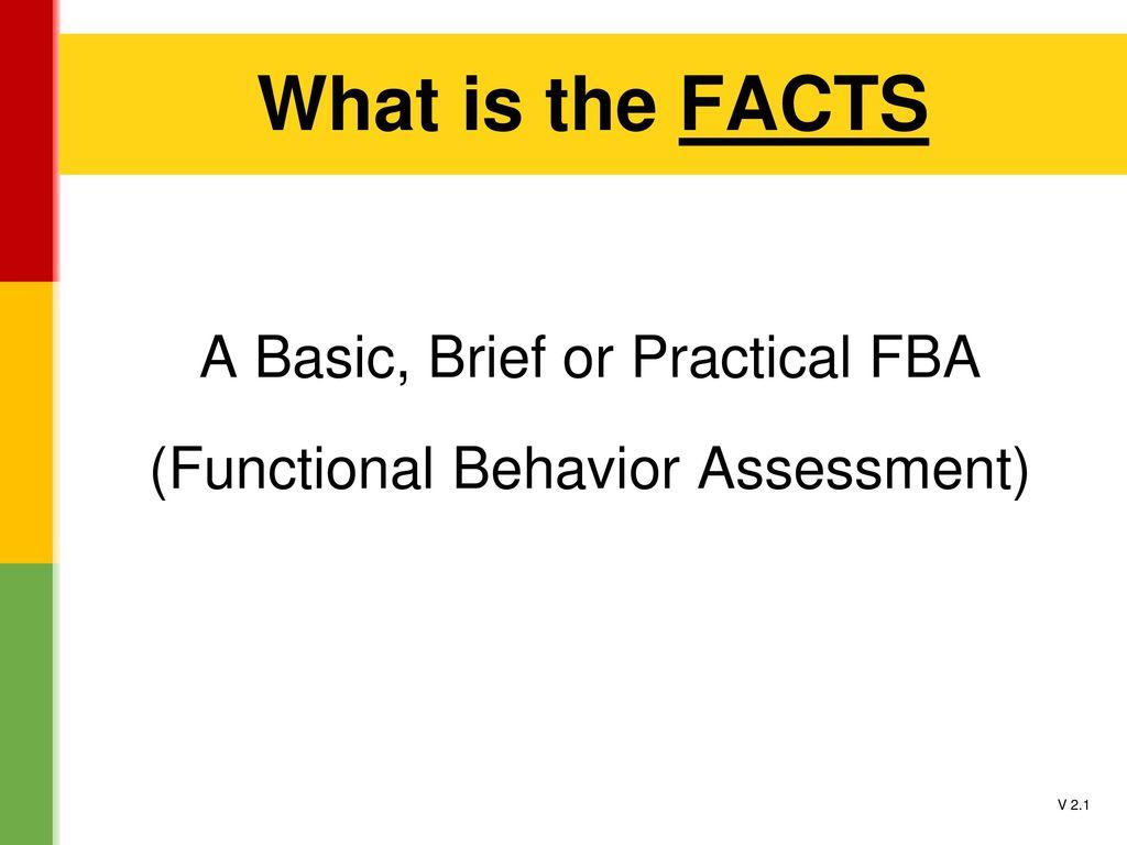 Functional Assessment Checklist For Teachers. 20 What
