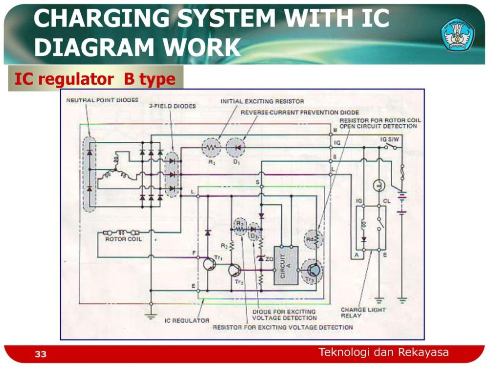 medium resolution of 33 charging system with ic diagram work