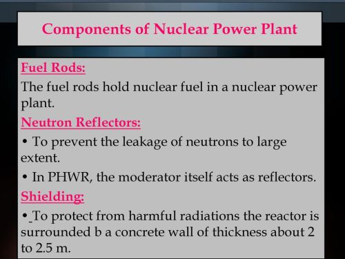 small resolution of components of nuclear power plant