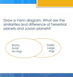 draw a venn diagram what are the similarities and difference of terrestrial planets and jovian [ 1024 x 768 Pixel ]