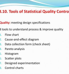tools of statistical quality control [ 1024 x 768 Pixel ]