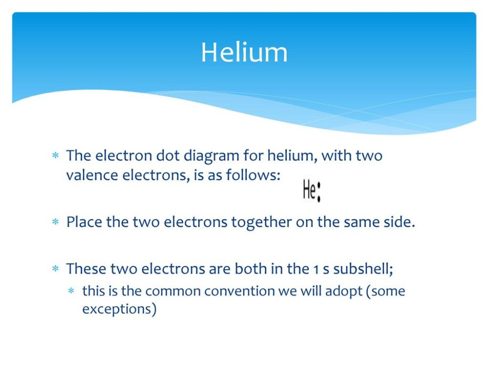 medium resolution of helium the electron dot diagram for helium with two valence electrons is as follows