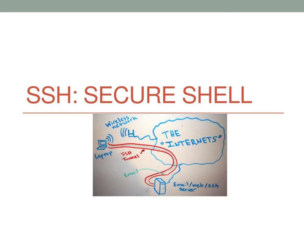 medium resolution of 1 ssh secure shell
