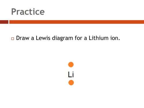 small resolution of 14 practice draw a lewis diagram for a lithium ion