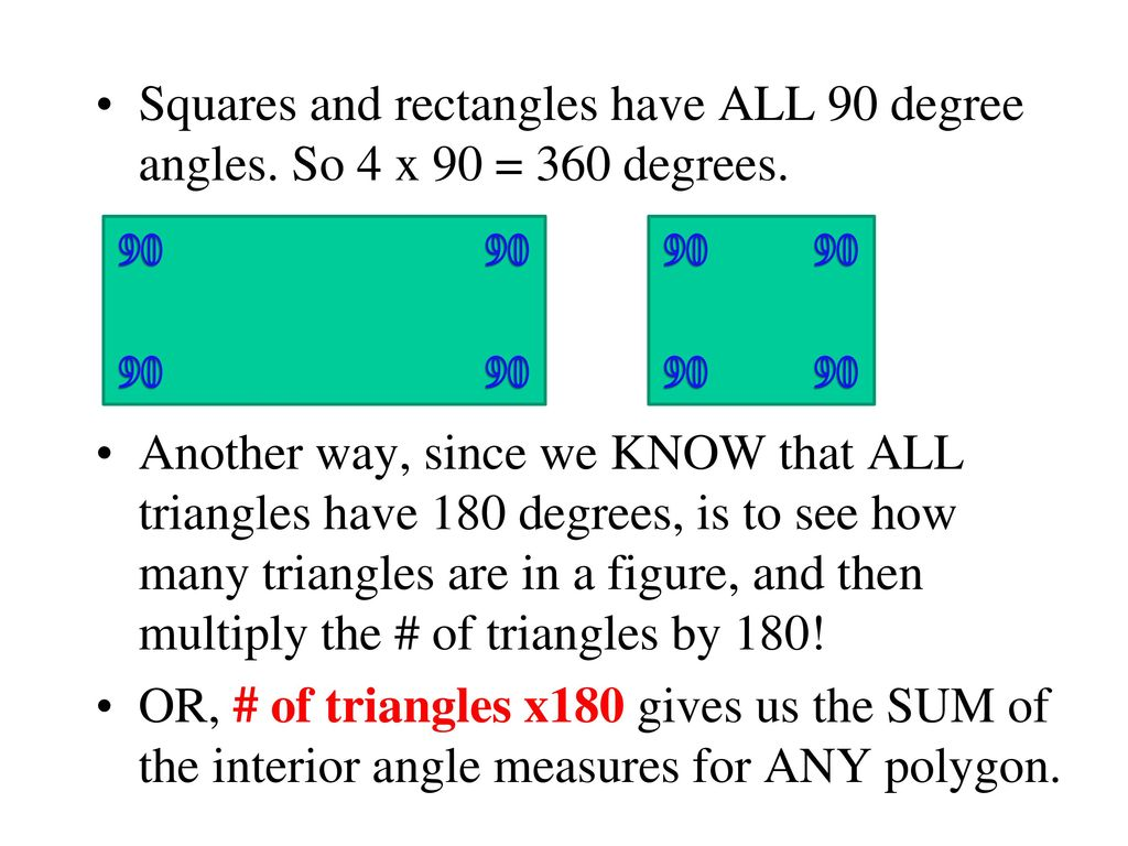 Interior Angle Measure Lesson And Questions