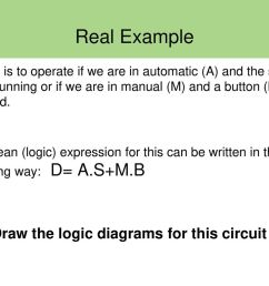 real example draw the logic diagrams for this circuit  [ 1024 x 768 Pixel ]