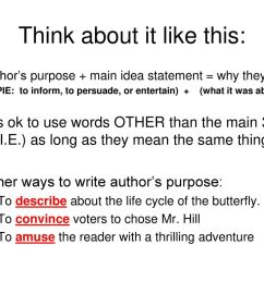 Author's Purpose. - ppt download [ 768 x 1024 Pixel ]