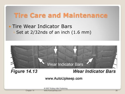 small resolution of tire care and maintenance