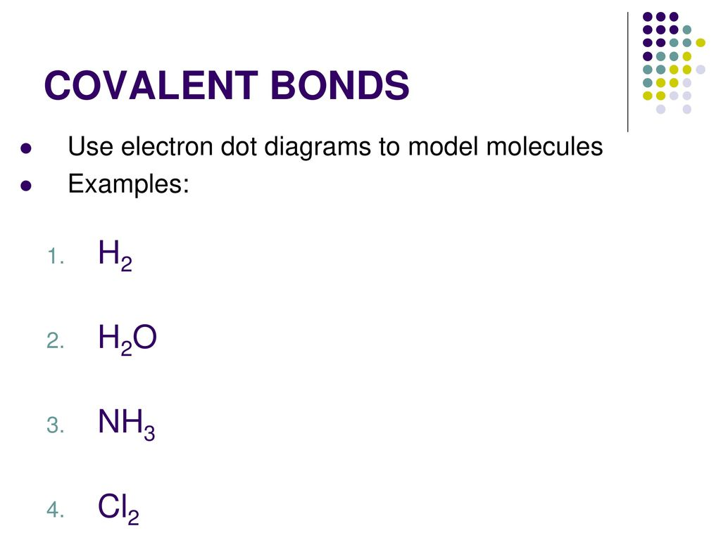 hight resolution of covalent bonds h2 h2o nh3 cl2