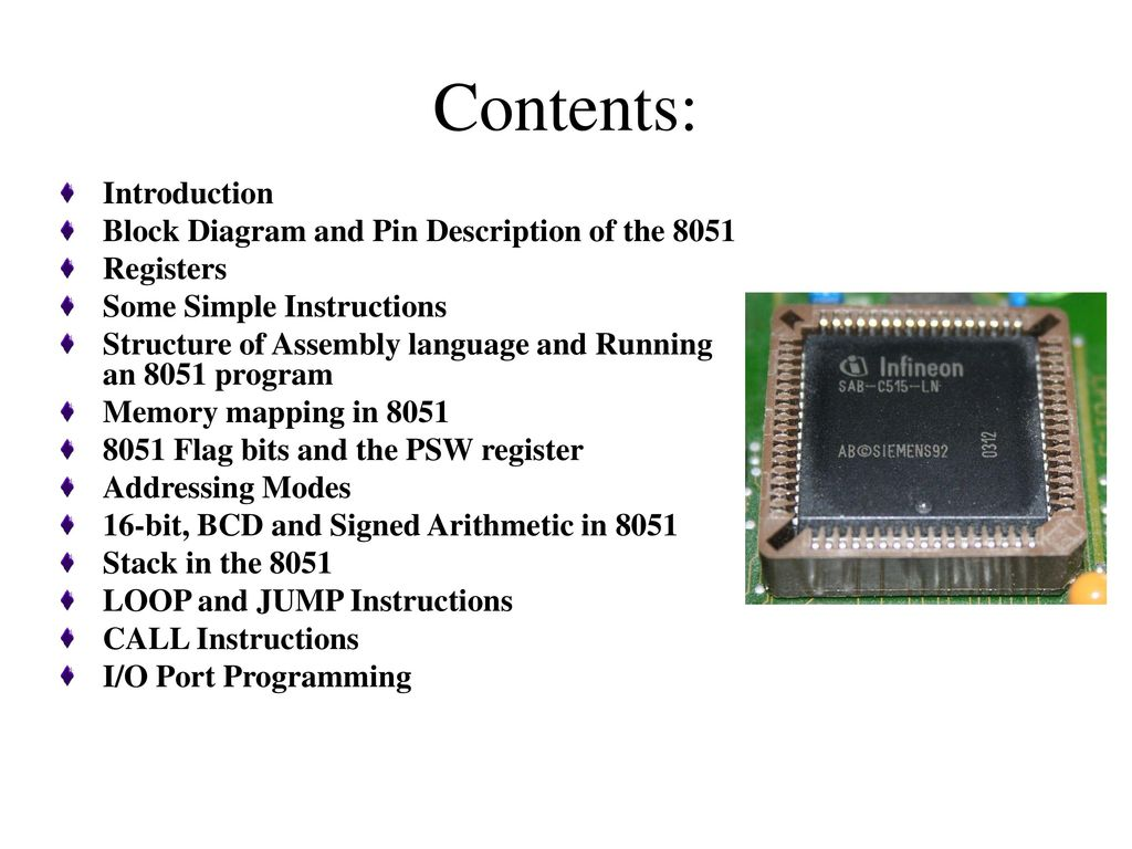 hight resolution of contents introduction block diagram and pin description of the 8051