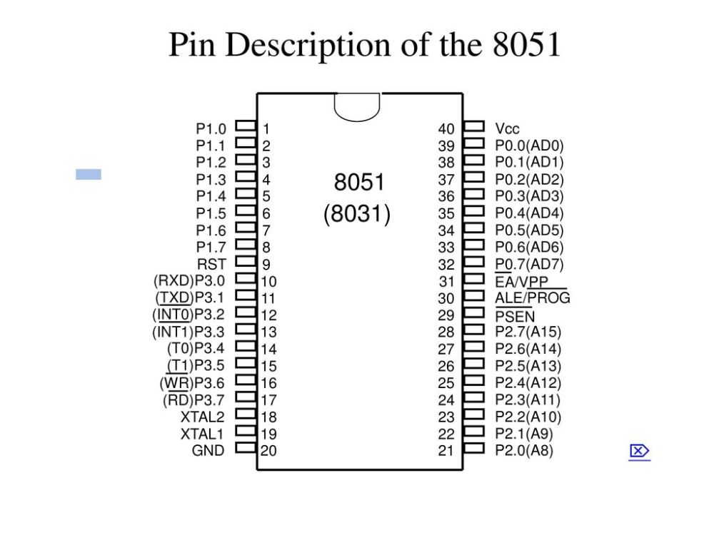 medium resolution of 8 pin description