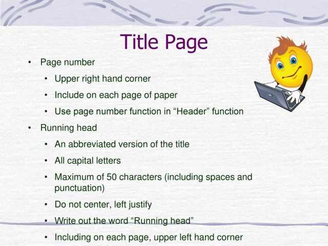 Writing in APA Style 28th Edition. - ppt download
