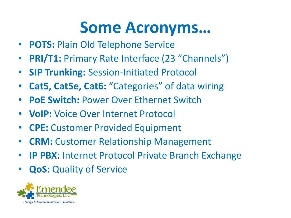 hight resolution of 3 some acronyms