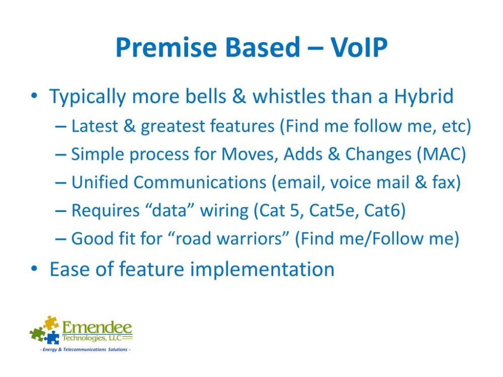 medium resolution of premise based voip typically more bells whistles than a hybrid
