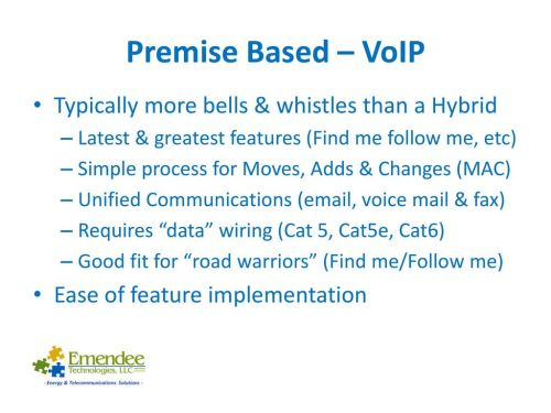 small resolution of premise based voip typically more bells whistles than a hybrid