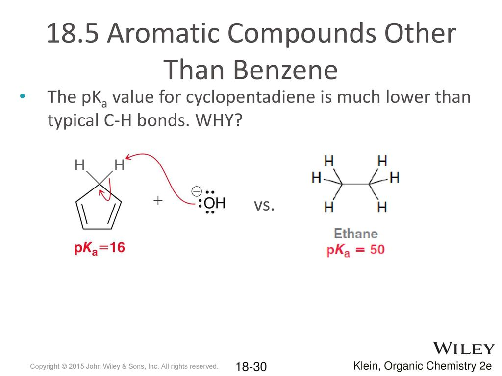 hight resolution of 18 5 aromatic compounds other than benzene
