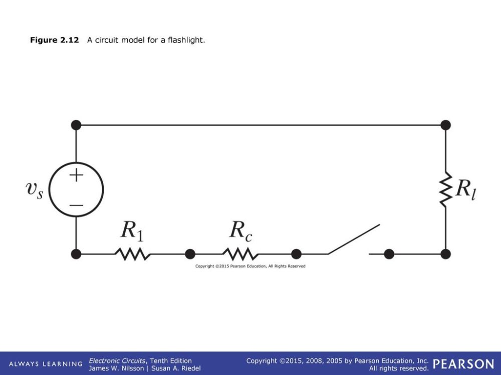 medium resolution of 12 figure 2 12 a circuit model for a flashlight