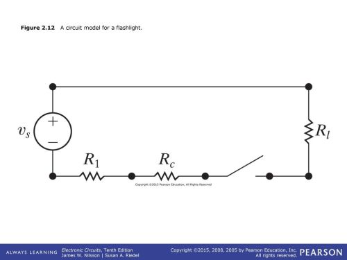 small resolution of 12 figure 2 12 a circuit model for a flashlight