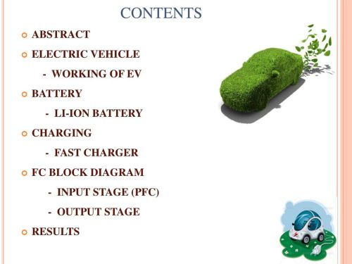 small resolution of contents abstract electric vehicle working of ev battery
