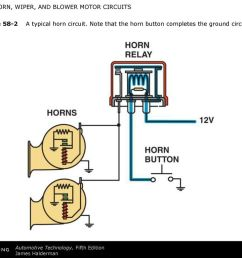 figure 58 2 a typical horn circuit [ 1024 x 768 Pixel ]