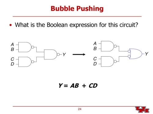 small resolution of 24 bubble pushing what is the boolean expression for this circuit