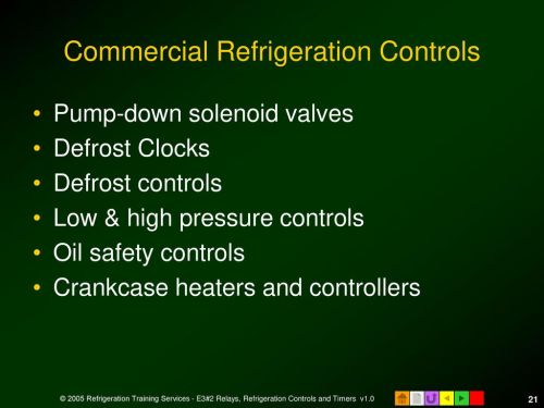small resolution of commercial refrigeration controls