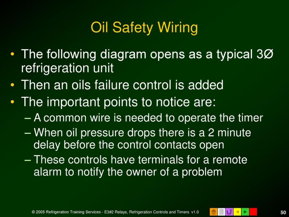 medium resolution of oil safety wiring the following diagram opens as a typical 3 refrigeration unit then an
