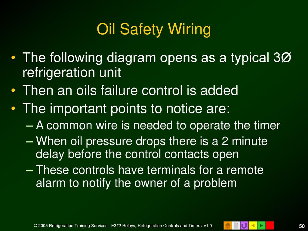hight resolution of oil safety wiring the following diagram opens as a typical 3 refrigeration unit then an