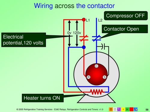 small resolution of 56 wiring across the contactor